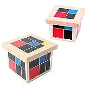 Unbekannt Kinder Montessori Mathematik Holzspielzeug Geduldspiel Lernspielzeug