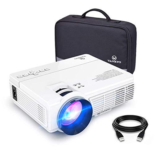 vankyo Proiettore 3600 Lux Videoproiettore con Custodia Portatile Mini Portatile Proiettore LED...