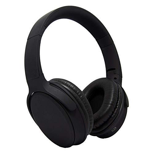 Alpino Thar GT Over-Ear Bluetooth Headphones | HD Bass & Noise Cancellation | Bluetooth 5.0 & Long Battery Life (Black)