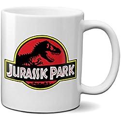Jurassic Park Dino Tazza in ceramica da caffè o colazione 100% resistente a microonde e lavastoviglie
