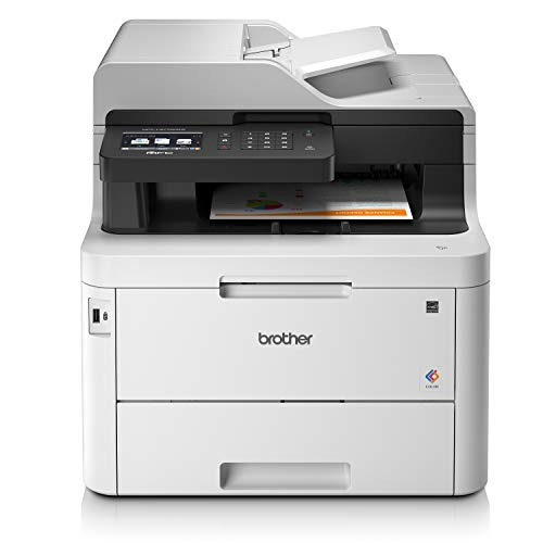 Brother MFCL3770CDWYY1 Stampante Multifunzione a Colori LED con FAX, 24 ppm, Wi-Fi, Ethernet, NFC,...