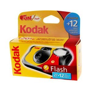 Kodak Fun Flash Appareil photo jetable-39expositions, Lot de 3