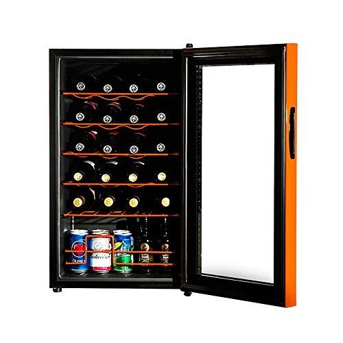 LNLN Frigo per Vino Refrigeratore per Vino Controllo Elettronico della Temperatura Simulazione...
