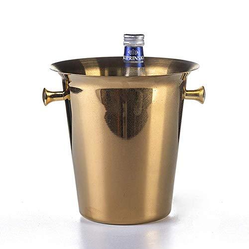 Zhong$chuang Secchio di Raffreddamento in Acciaio Inox Vino/Champagne, Grande Frigorifero per...