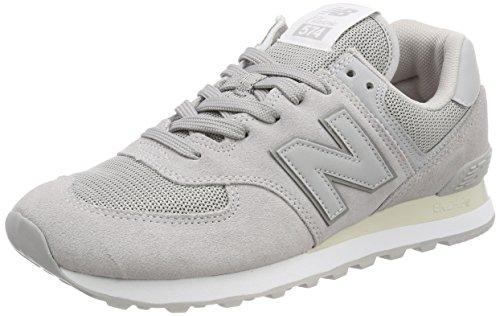 New Balance Herren ML574EGN Sneaker, Grau (Rain Cloud), 44.5 EU