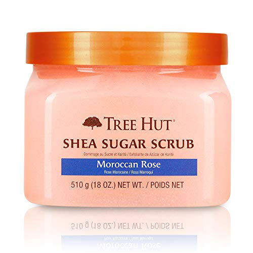 Tree Hut Shea Sugar Body Scrub Moroccan Rose, 510g