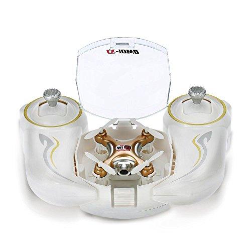GoolRC Wifi FPV Mini Drone con fotocamera Video Live, 3D Flips, alta/bassa velocità, alta Hold...