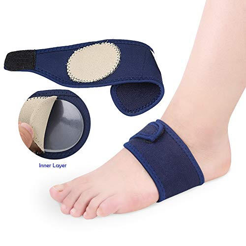 Skudgear 2 Pieces Plantar Fasciitis Arch Heel Aid Feet Cushion Sleeve Pad Arch Support Orthopedic Insoles Heel Pain Relief Shock Orthotic (Advanced Model)
