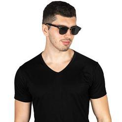 VVA-Gafas-de-sol-polarizadas-clsico-retro-medio-marco-para-Hombre-y-Mujer-V1002