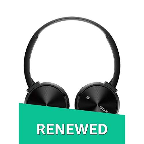 (Renewed) Sony MDR-ZX330BT On-Ear Bluetooth Headphones (Black)