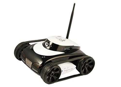 Xtreme Veicolo Cingolato con Batteria Ricaricabile a Polimeri di Litio, Dotato di Camera 0,3 Mp con Visione Notturna e Trasmissione Tramite Wi-Fi del Segnale Real Camera FPV