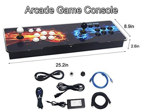 SeeKool Pandora 11 Console de Jeux vidéo Arcade, 2255 en 1 Console de Jeux vidéo HD Retro, Commandes de Jeu à 2 Joueurs Double Stick Arcade ... 29