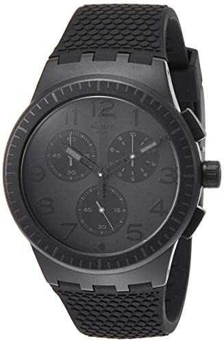 Swatch Orologio Cronografo Quarzo Uomo con Cinturino in Silicone SUSB104