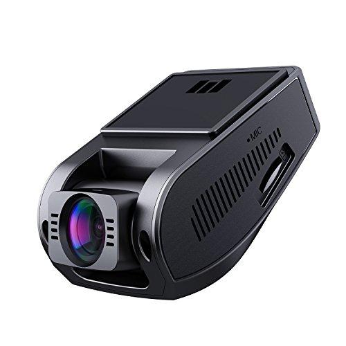 """AUKEY Dashcam 1080p Kompakte Autokamera, 170° Weitwinkel, Wdr Nachtsicht Bewegungssensor, Loop Aufnahme, 1, 5\"""" LCD Stealthcam inkl. 2 Ports Autoladegerät (DR02)"""
