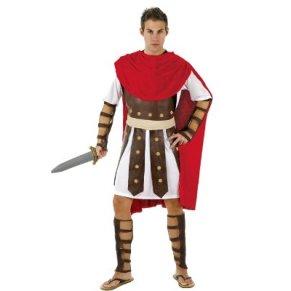 Atosa-98907 Disfraz Romano, color marrón, M-L (98907)