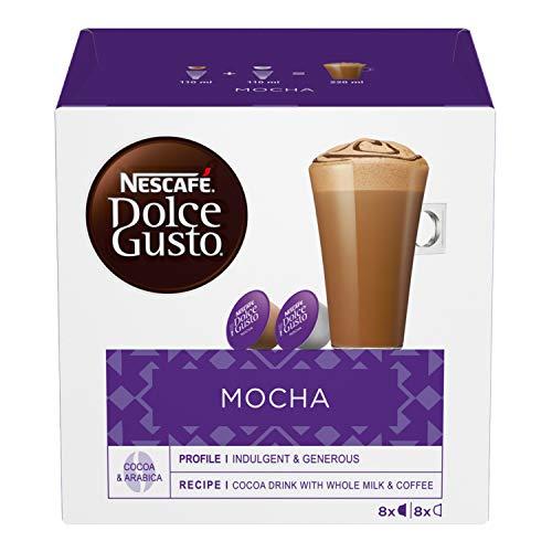 NESCAFÉ Dolce Gusto Mocha, Cioccolata al Caffè, 3 Confezioni da 16 Capsule (48 Capsule)
