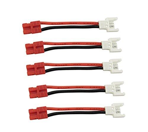 Fytoo Accessori 5PCS Linea di Conversione del Connettore della Batteria per SYMA X5HW X5HC X5A-1 X15...