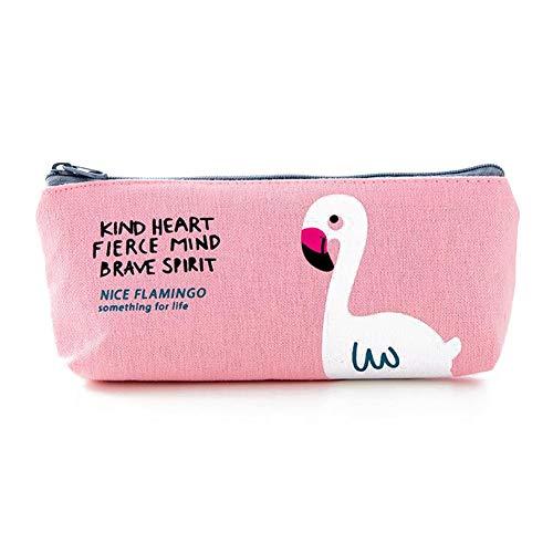 Kasla Pencil Case Flamingo Design, Kawaii Style Pouch Pouch Pochette per scuola/ufficio/Articoli da...