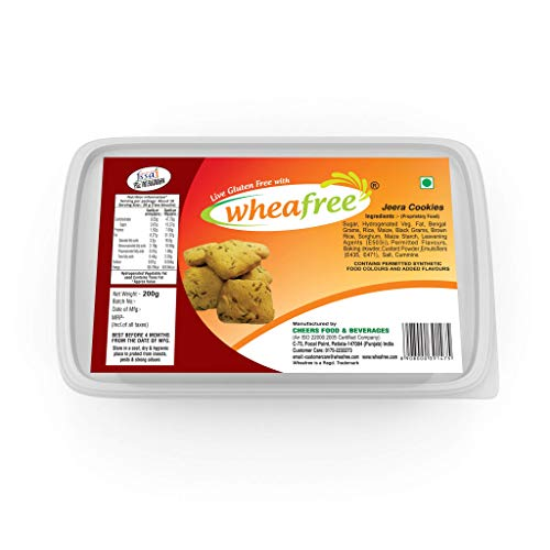 Wheafree Gluten Free Jeera Biscuits 200g