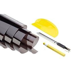 Unitec Profex 73794 - Juego para tintar lunas (75 x 152 cm y 50 x 152 cm)