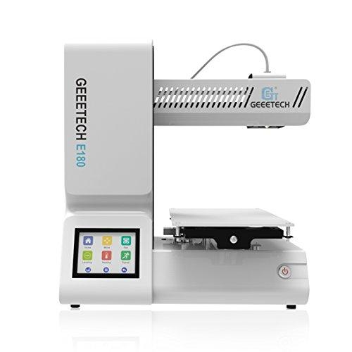 GEEETECH E180 Stampante 3D con funzione di pausa e ripresa della stampa, Touch Screen 3.2″a Colori
