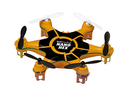 Revell- Mini Quadcopter Nano Hex RC, Colore Arancio, RV23948