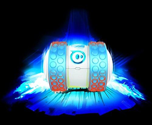4189se6y6iL - Orbotix Ollie 1B01ROW - Robot controlado por móvil (Bluetooth, USB, compatible con iOS y Android), blanco y azul