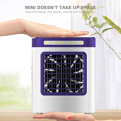 Raffreddatore d aria fredda ad acqua-TianranRT Nuovo dispositivo di ricarica S9 Mini ventilatore...