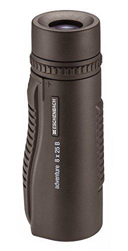Eschenbach Optik adventure M 8 x 25 Monokular, robust, geringes Gewicht, wasserdicht, braun