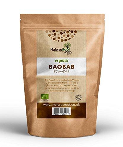 Natures Root Poudre de Baobab Bio 1kg - SUPERALIMENT   VEGETALIEN   VITAMINE C NATURELLE 22