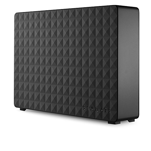 Seagate Expansion - Disco duro externo de Desktop 3.5' para PC, Xbox One y PlayStation 4 (4 TB, USB 3.0), Negro