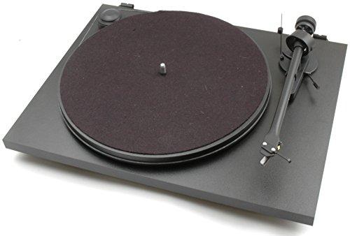 Platine vinyle Pro-Ject Essential II Référence OM10 FR - Noir mat