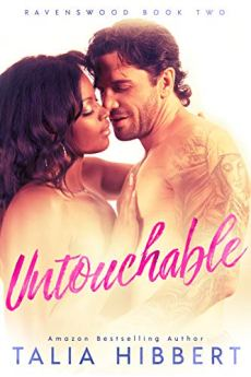 Untouchable: A Small Town Romance (Ravenswood Book 2) by [Hibbert, Talia]