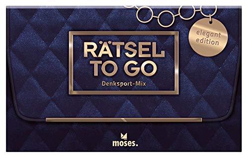 Rätsel to go Denksport-Mix: elegant edition