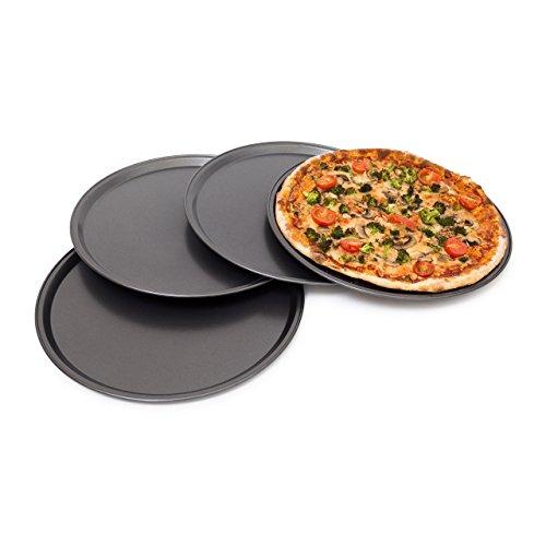 Relaxdays Pizzablech 4er Set thumbnail