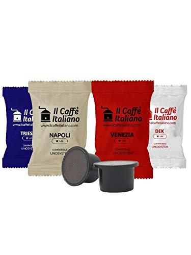 FRHOME - UNO System 100 Capsule compatibili - Il Caffè Italiano - Kit Degustazione Tour d'Italia con varie intensità