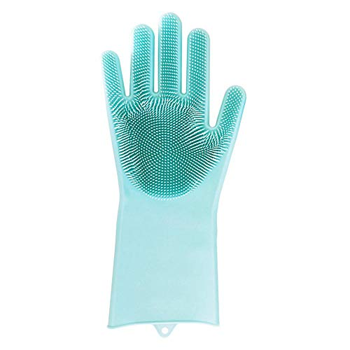 Aolvo Guanti di pulizia in silicone per spazzola di pulizia Magic SakSak Guanti resistenti al calore...