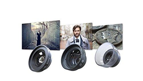 Dreamgrip Visio Pro Ultra Faible Distorsion Ensemble de lentille pour n'importe Quel Smartphone Téléphone Objectif de Fixation 22