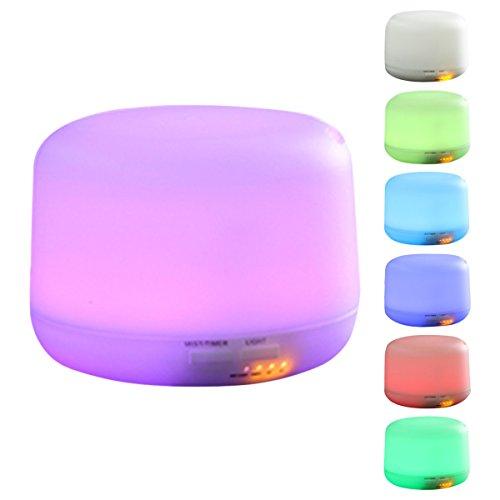 ELEGIANT - Diffusore per aromaterapia, lampada d'atmosfera, umidificatore a ultrasuoni con aroma,...