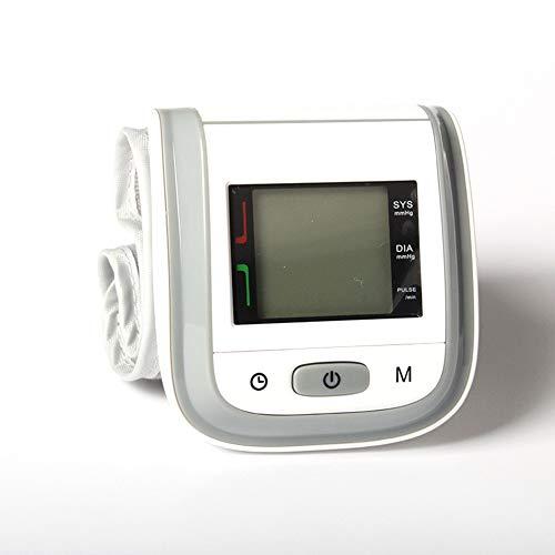 YMJJ Misuratore di Pressione da Polso, Monitor a impulsi e Battito Cardiaco Automatici con Display...