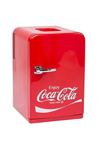 Coca-Cola 10525430Mini Frigorifero F1512/230V–15Litri con Frigorifero e Funzione di...