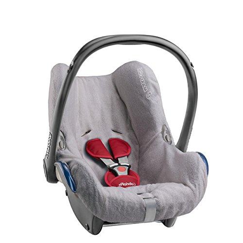 Maxi-Cosi Cabriofix - Funda de verano para silla de coche, color gris