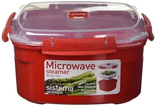 Sistema Contenitore Per Cottura A Vapore In Microonde, Medio, 2,4L