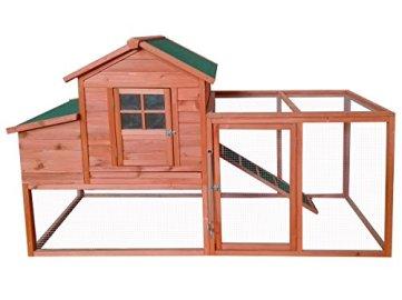 Ein Stall für Hühner, Hasen und andere Nagetiere