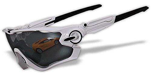 4 lentes Chrome Iridium Switchlock pulido marco original gafas de sol de deportes polarizados (JB02)