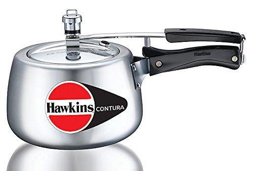 Hawkins Contura Aluminum Pressure Cooker, 3 Litres