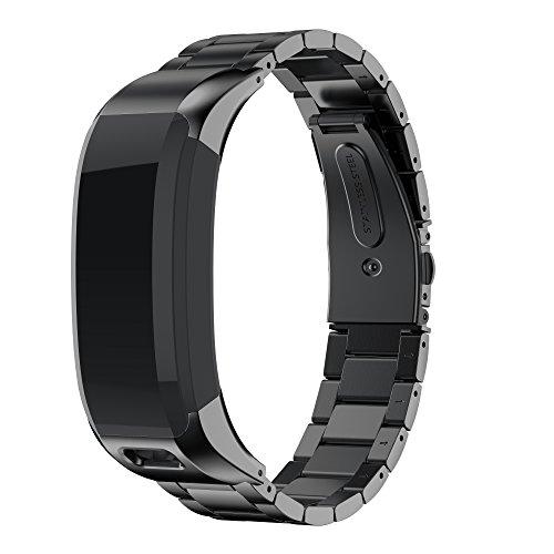 NotoCity Compatibile con Cinturino Vívosmart HR Fitness Tracker Cinturino di Ricambio in Acciaio Inossidabile per Vivosmart HR