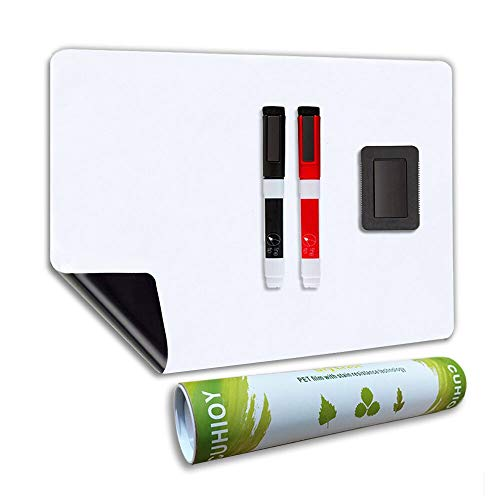 Lavagna Magnetica A3+ per Frigorifero con Nuova Tecnologia Antimacchia, Lavagnetta Magnete Frigo per...