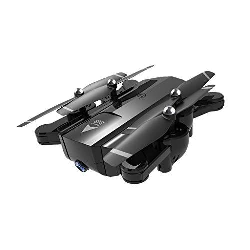FPV Drone Con Videocamera HD Live Video E Posizionamento Satellitare GPS, Quadcopter Pieghevole Con Telecamera Grandangolare Regolabile, Follow Me, Modalità Headless, Tempo Di Volo Lungo, Selfie Drone