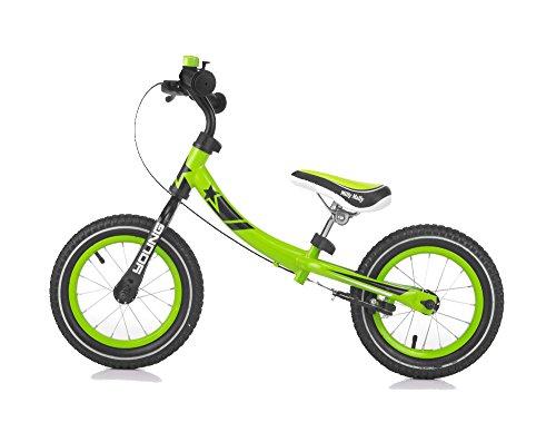 Milly Mally 5901761122077-Bici Senza Pedali per Bambini con Ruote e Girevole Quadro da...